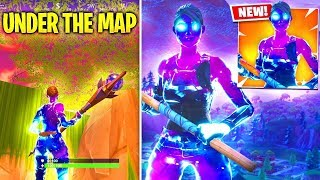 how to get underground anywhere in fortnite!