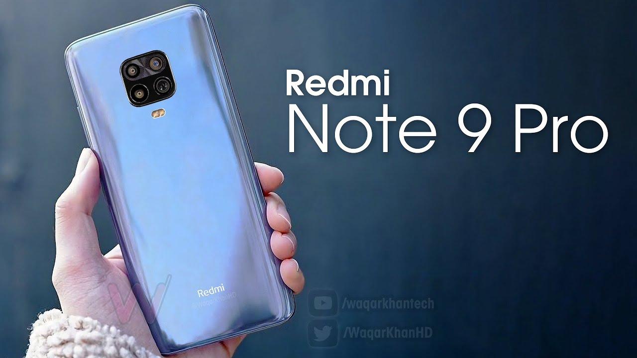 Redmi Note 9 Pro youtube
