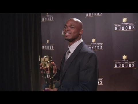Adrian Peterson named NFL MVP