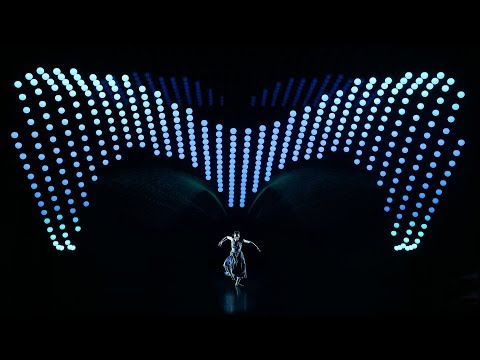 2047 APOLOGUE - a concept performance by Zhang Yimou featuring 640 KINETIC LIGHTS WinchXS