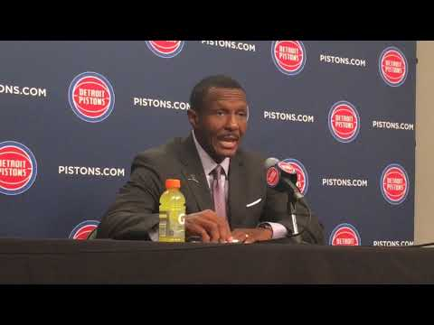Pistons' Dwane Casey: 'We're our worst enemy in certain situations'