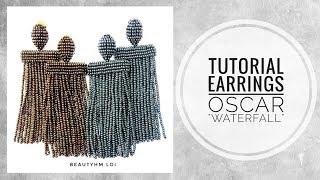 "#МК - Оскар де ла Рента ""Водопад"" | #Tutorial - Oscar de La Renta ""Waterfall"""
