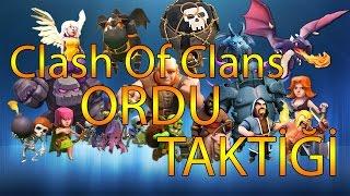Clash Of Clans | Ordu Taktiği + Sandık Açılımı!