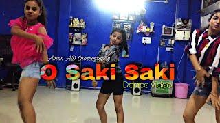 O Saki Saki Dance   Batla House   Nora Fatehi   Aman AD Choreography   AD Dance Academy Ludhiana