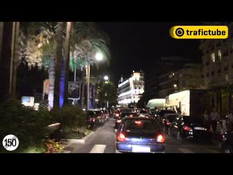 Ville de Cannes: Promenade nocturne (Cannes: Plimbare nocturna)