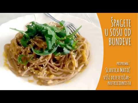 Špagete u sosu od bundeve - video recept