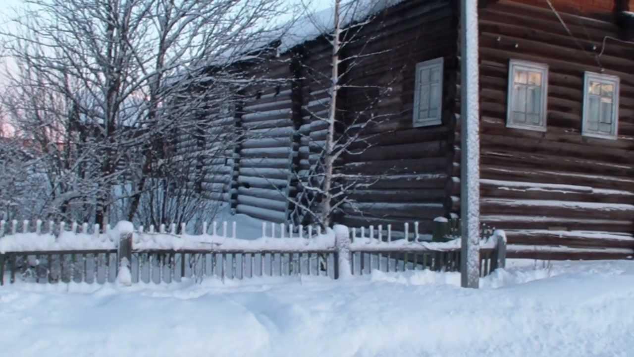 Зимняя поездка в Карпогоры 2013 - YouTube