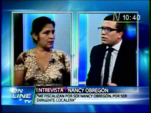 Christian Hudtwalcker pierde los papeles con Nancy Obregón