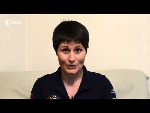 Samantha's greeting for 50 years of European cooperation in space