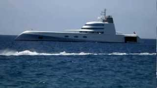 119 meter Super Yacht A in Puerto Banus