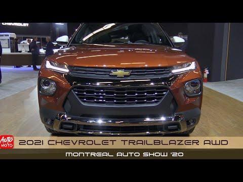 2021 Chevrolet Trailblazer AWD - Exterior And Interior - Montreal Auto Show 2020