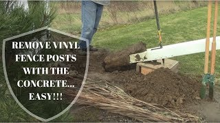 How To Remove And Install Vinyl Fence Posts