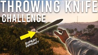 Battlefield V throwing knives only