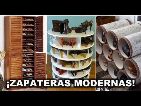 b517addb Modelos de Zapateras Modernas (ideas 2018) | LAB 21 DIY & DECO - YouTube