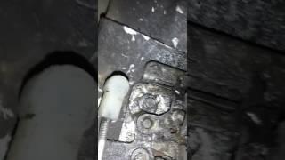 Открытия внутреннего замка двери Лада Приора