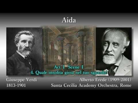 Verdi: Aida (Complete), Erede & Tebaldi & Del Monaco (1952) ヴェルディ アイーダ エレーデ&テバルディ