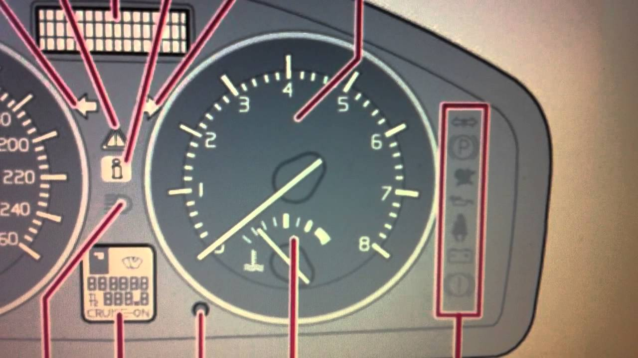 Volvo C70 Dashboard Warning Lights Symbols What They Mean Youtube