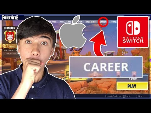 HOW TO CHECK YOUR *CAREER* ON FORTNITE SWITCH/MOBILE!