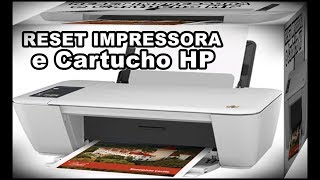 Dicas Impressora - Veja Como Fazer o Reset Da Impressora HP 2546 e Reset Dos Cartuchos 662 Piscando