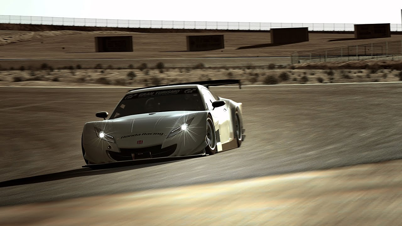 Beau Honda HSV 010 GT Willow Springs Time Attack GT6