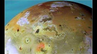 Эта Планета буквально кишит вулканами.  Ио луна Юпитера. Тайны Вселенной. Документальный фильм.