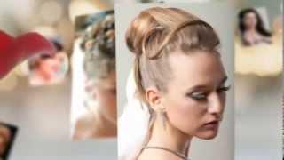 Свадебные прически на длинные волосы(Еще больше видео на сайте - http://modneys.ru/ вКонтакте - http://vk.com/modneys Твиттер - https://twitter.com/Modneys Фейсбук - http://bit.ly/Modney..., 2014-02-10T05:09:25.000Z)
