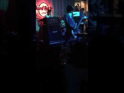Naqita band ( bassist) ( arie ) @hardrockcafe kuala lumpur