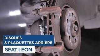 Changer les Plaquettes de frein arrières sur Seat Leon