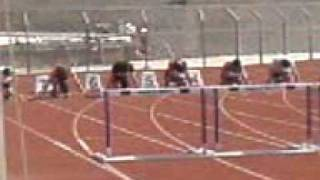 the worst accident in 100m. hurdles