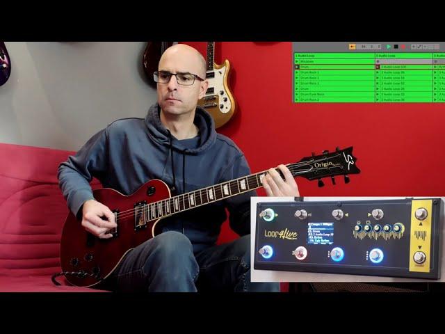 Démonstration du pédalier Loop4Live pour Ableton Live