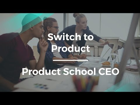 How to Transition to Product Management by Product School CEO