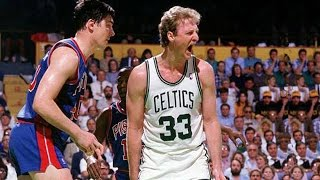 Larry Bird (37 pts, 9 reb, 9 ast) vs Detroit Pistons 1987 Game 7 ECF