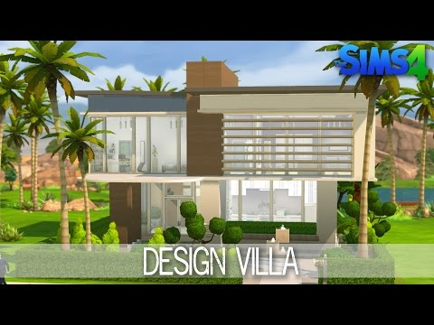 the sims 4 house building design villa speed build - Sims 4 Home Design