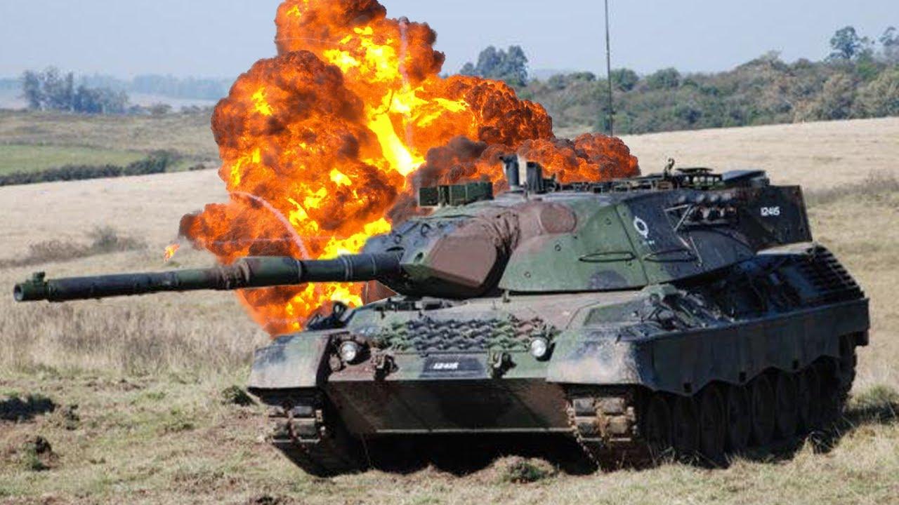 Quão Resistente é um Tanque do Exército Brasileiro ?