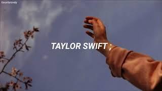 Dedicale está canción a la persona que quieres ♥️😍 [Taylor Swift - Crazier](Traducida al Español)