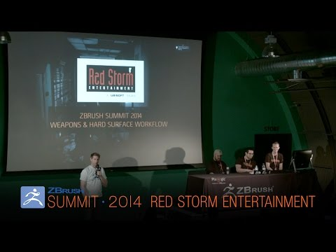Official ZBrush Summit Presentation: Red Storm Entertainment