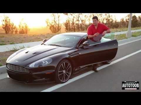RARE DRIVE - 2011 Aston Martin DBS Carbon Black