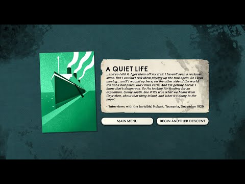 Cultist Simulator [Exile] - A Quiet Life in 17:07 |