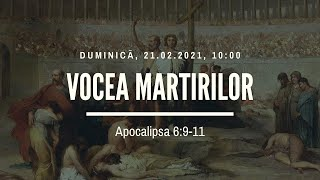 Sfanta Treime Braila - 21 Februarie 2021 - Iosua Faur - Apocalipsa 6:9-11