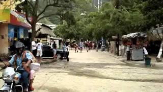 Taganga Main Street Colombia