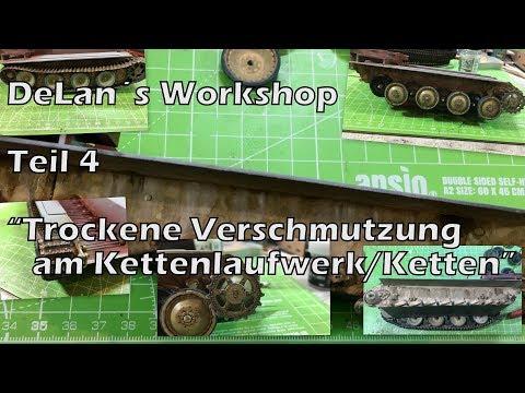 """DeLan´s Workshop Teil 5 """"Trockene Verschmutzung Im Kettenlaufwerk/Ketten"""""""