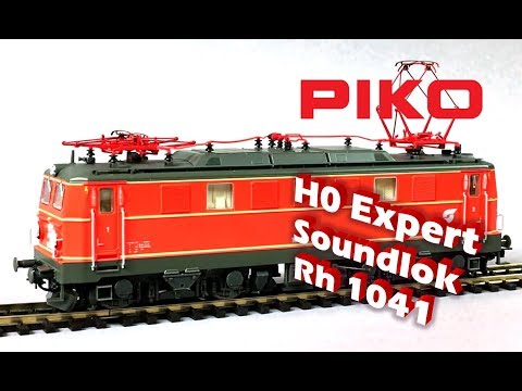 PIKO [061EN] H0 Expert sound electric loco Rh 1041 ÖBB - model presentation