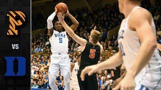 Princeton vs. Duke Basketball Highlights (2018-19)