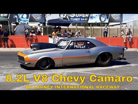 Chevy Camaro Monster Makes A 8 Second Pass At Killarney