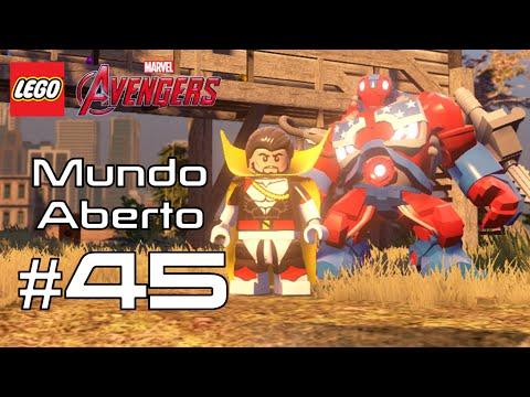 LEGO Vingadores - Biga Chitauri e Moto do Bruce Banner - Mundo Aberto #45