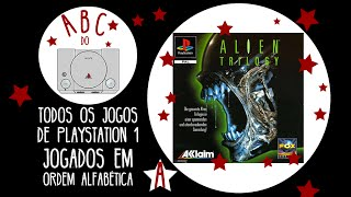 Alien Trilogy - Gameplay comentado em português [ABC do PS1]