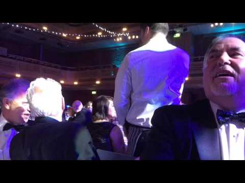 Singing Chef - Bury Free Press Business Awards 2016