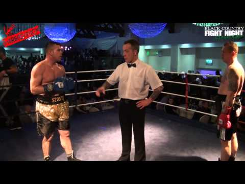 Black Country Fight Night   HELP FOR HEROES   Jason Stone VS Chris Pollock