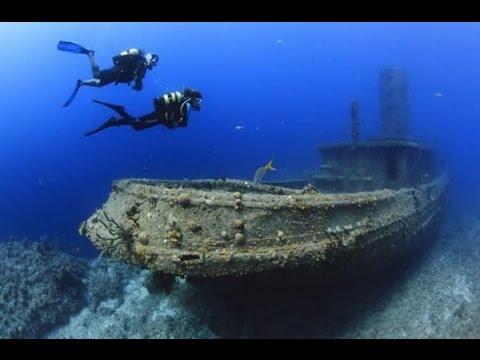 Naufragios del mundo: barcos hundidos y encallados -