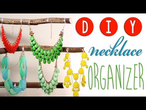 HOW TO: DIY a Necklace Organizer